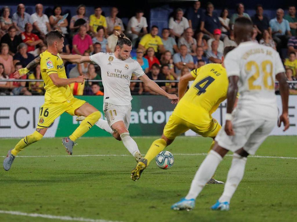 Villarreal Vs Madrid Imbang 2-2, Bale Dua Gol Plus Kartu Merah