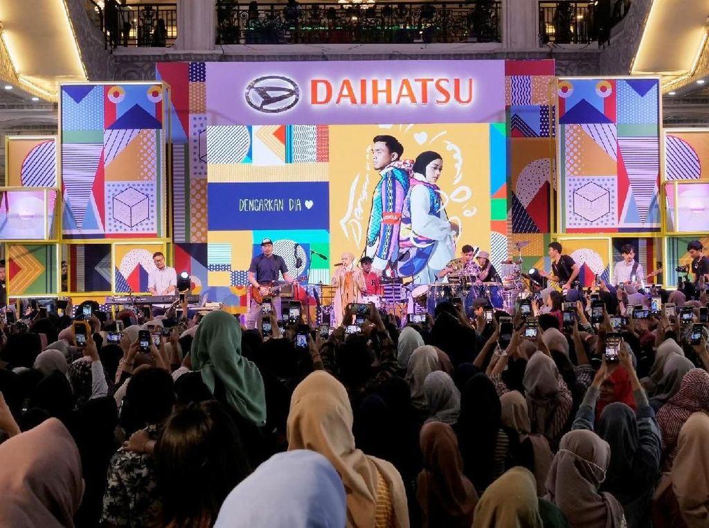 Berhadiah Ayla, Para Milenial Antusias Ikut Daihatsu Urban Fest