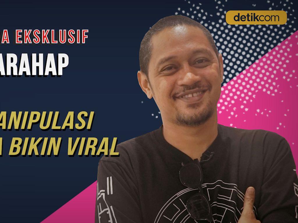 Eksklusif! Manipulasi Foto, Bentuk Agan Harahap Sindir Isu di Indonesia
