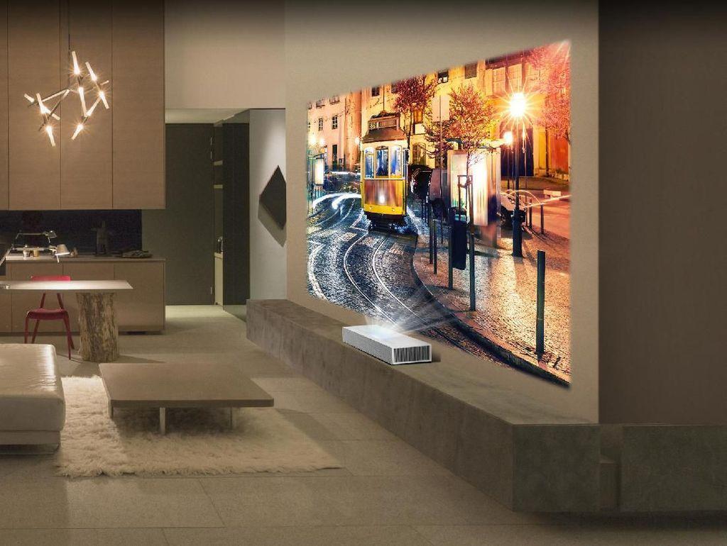 LG Pamer Proyektor 4K Anyar di Berlin