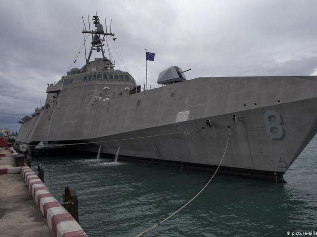AS-ASEAN Gelar Latihan Gabungan Maritim di Laut China Selatan