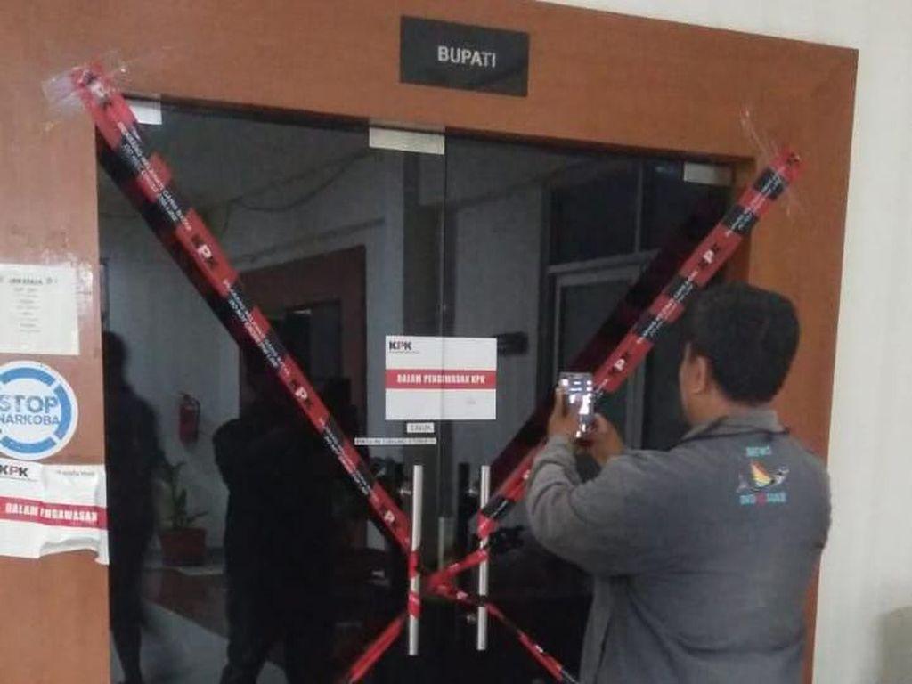 OTT Bupati Muara Enim, KPK Amankan 4 Orang