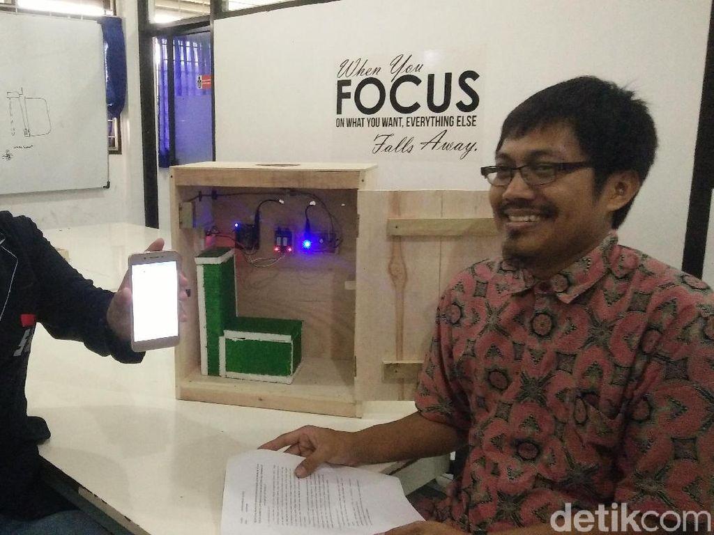 Mahasiswa Purwokerto Bikin Alat Deteksi Perokok di Toilet KA