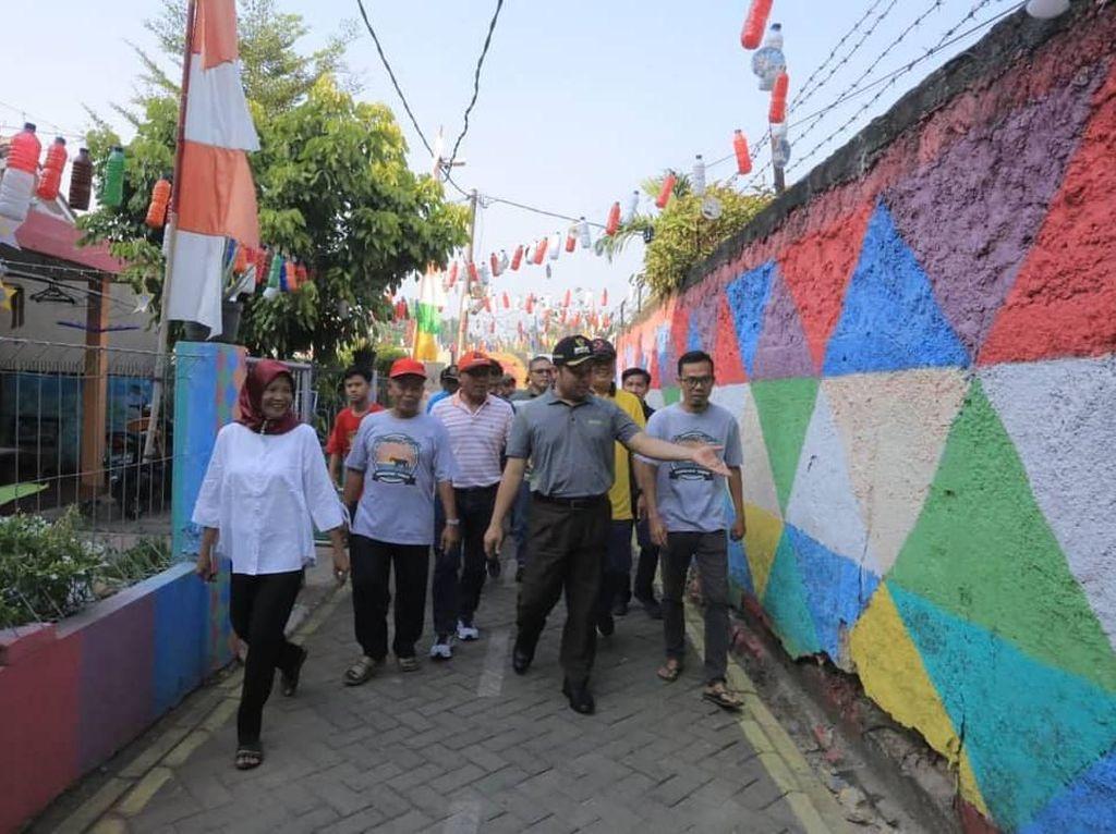 Pemkot Tangerang Gencarkan Kampung Tematik agar Lingkungan Sehat