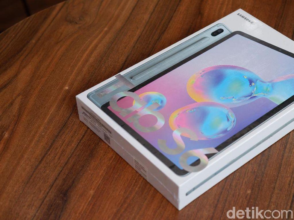 Unboxing Galaxy Tab S6, Tablet Sangar Samsung