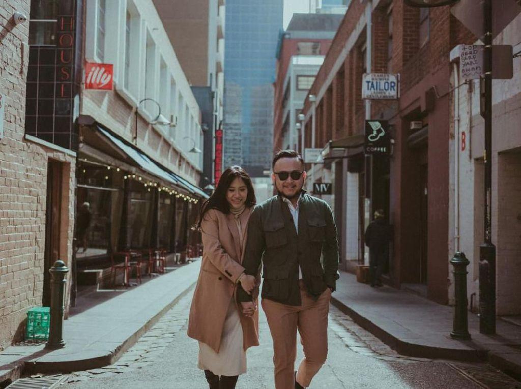 Babymoon ke Australia Koper Samuel Wongso dan Istri Ikut Beranak