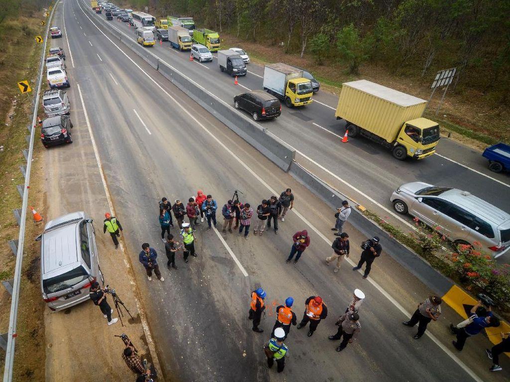 Truk Pemicu Tragedi Cipularang ODOL, Rem Jadi Tak Maksimal