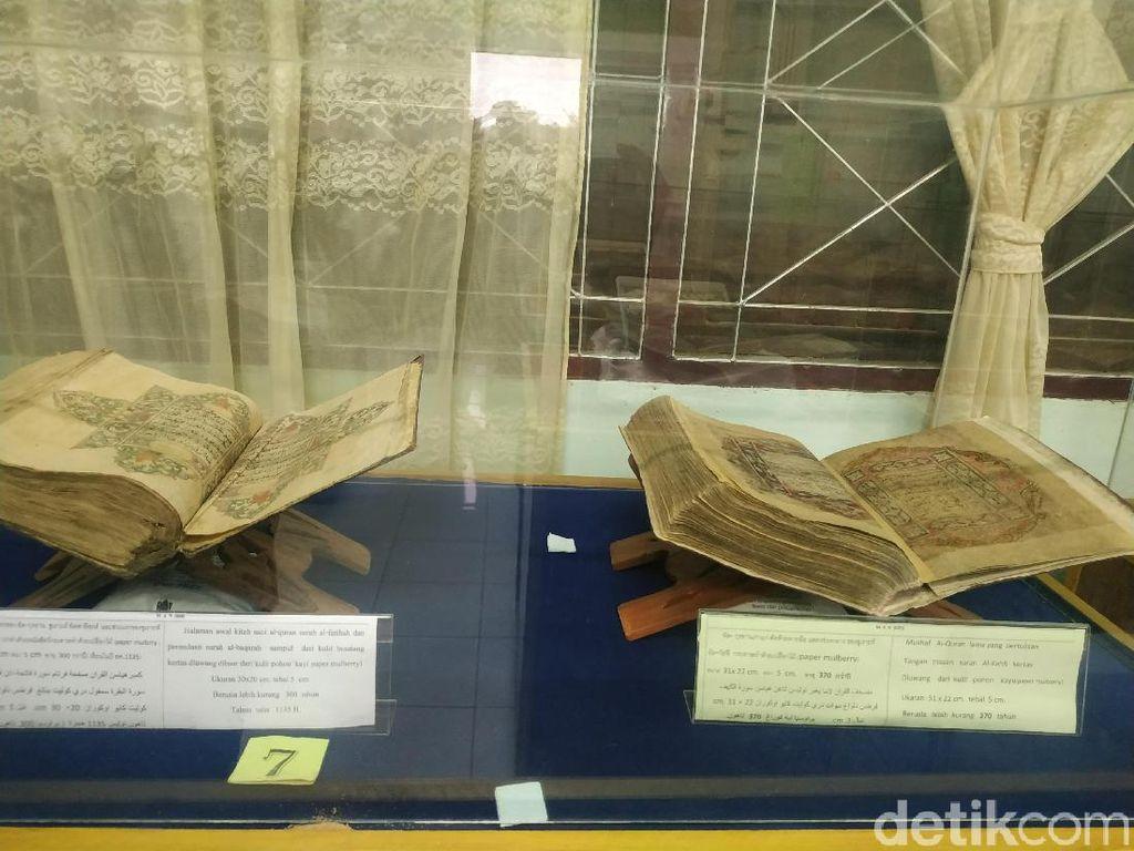 34 Alquran Kuno dari Indonesia Terjaga Apik di Narathiwat Thailand