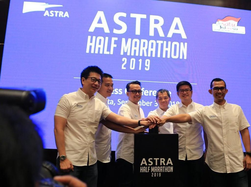 Astra Half Marathon 2019 Segera Digelar