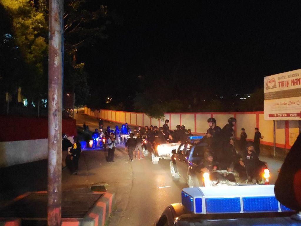 Brimob Papua Gelar Patroli Pengamanan Malam di Jayapura
