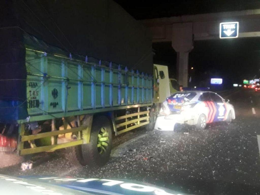 Korban Tewas Kecelakaan di Tol Ciledug Seorang Polisi
