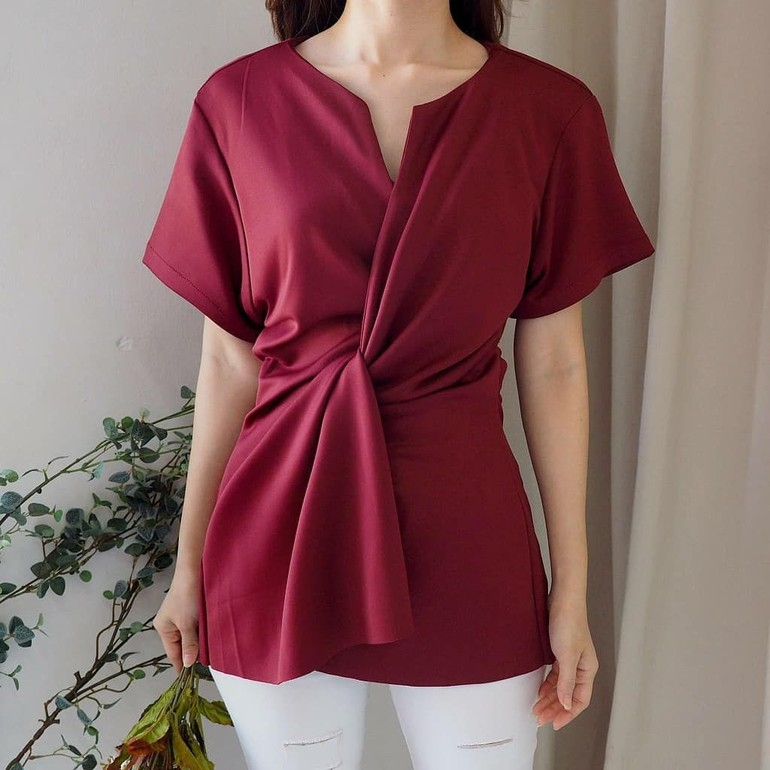 10 Baju Atasan Cantik Dari Online Shop Di Bawah Rp 100 Ribu Untuk