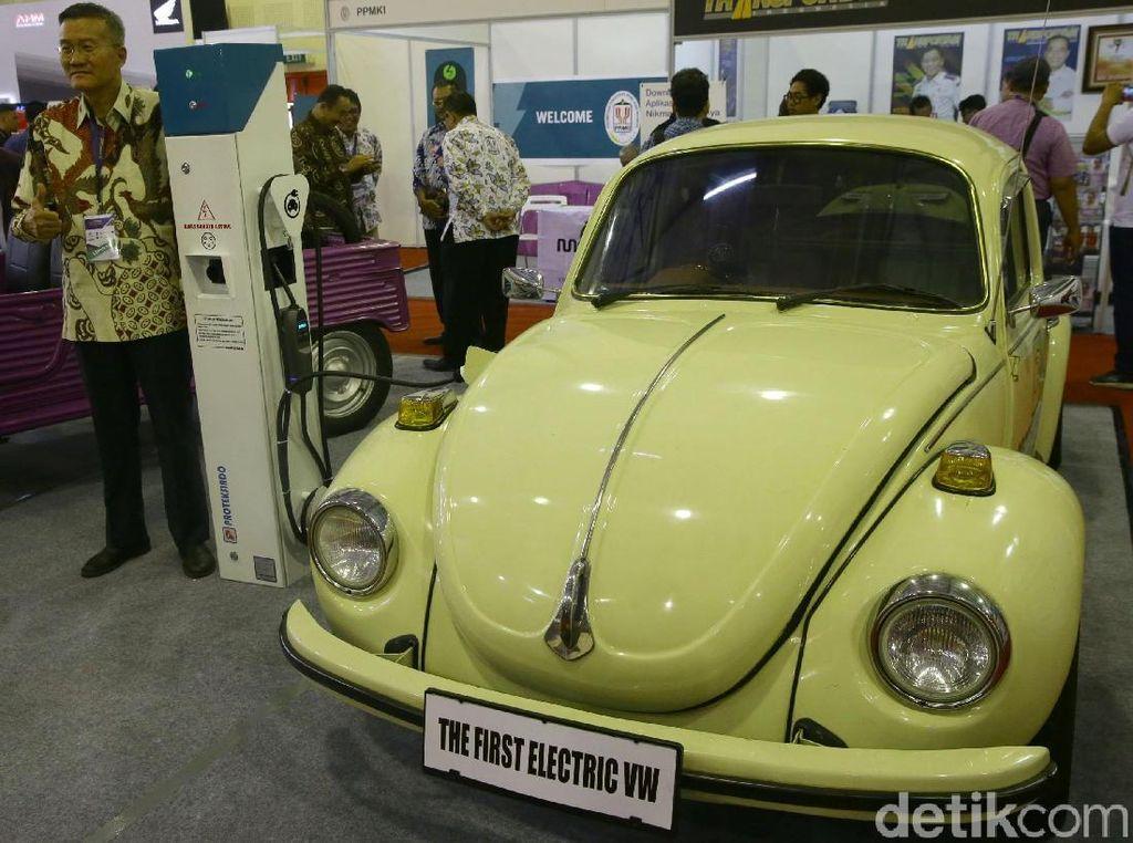 Mobil VW Kodok Listrik Pertama di Indonesia