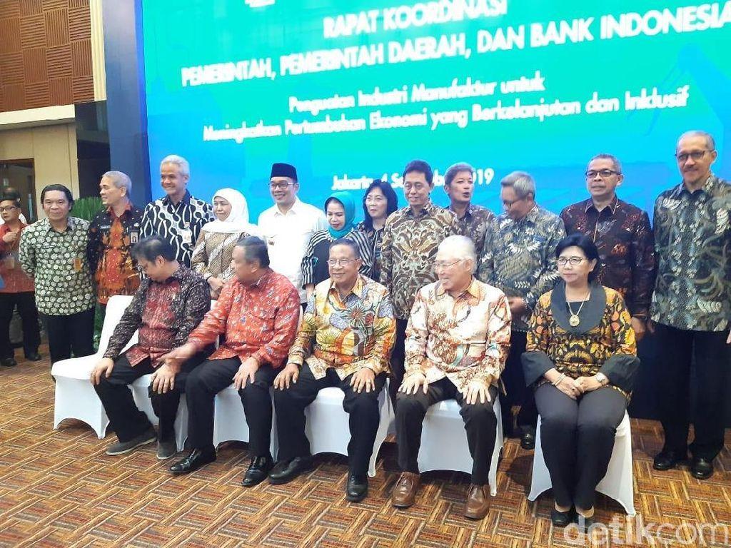 BI dan Pemerintah Rapat Bahas Pengembangan Industri