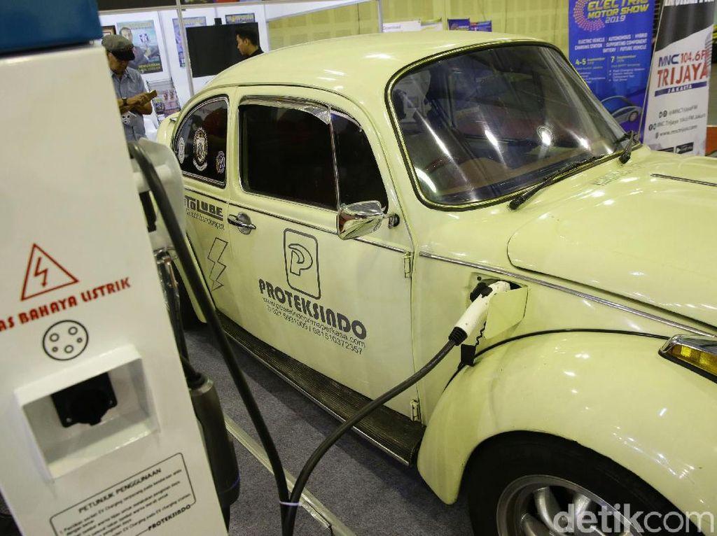 Menperin: Konversi Mobil Bensin ke Listrik Bukan Modifikasi