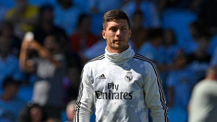 Luka Jovic dipastikan absen membela Real Madrid akhir pekan ini karena tengah cedera (Octavio Passos/Getty Images)