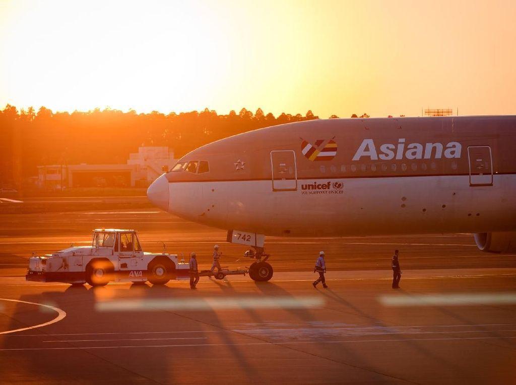 Asiana Airlines Akan Diambil Alih Korean Air