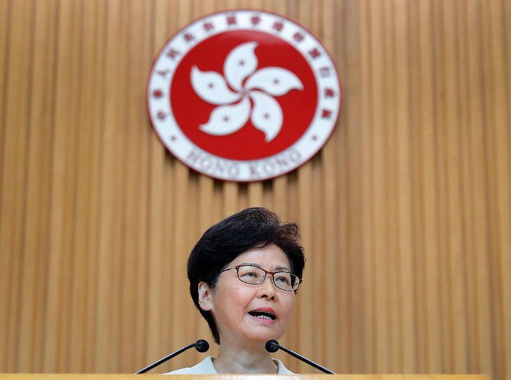 Pemimpin Hong Kong Dikabarkan Akan Umumkan Pencabutan RUU Ekstradisi