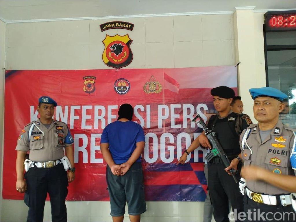 Pemerkosa Bocah di Bogor Remaja 17 Tahun