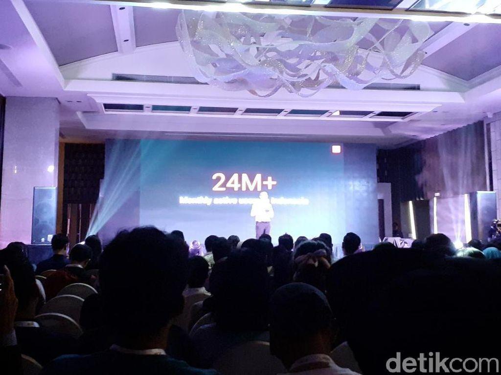 Pengguna Aktif Bulanan MIUI di Indonesia Tembus 24 Juta