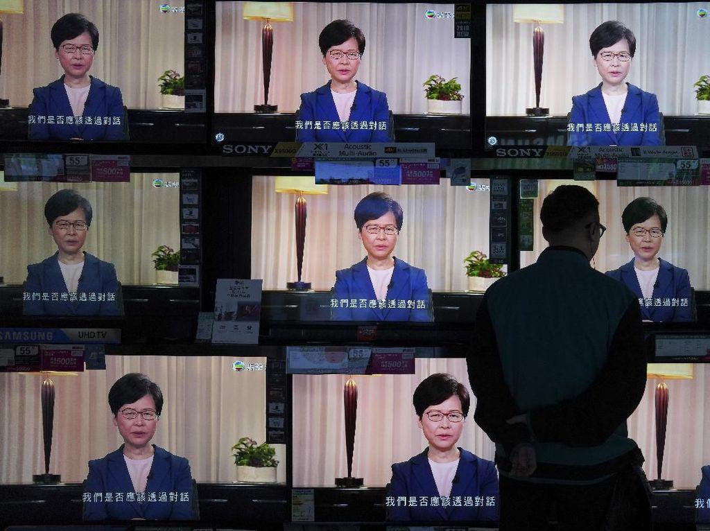 Pemimpin Hong Kong Cabut RUU Ekstradisi, Ini Tanggapan Media China