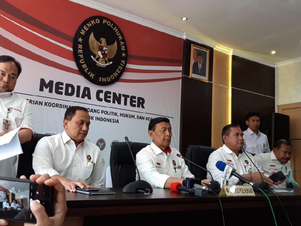 Wiranto: Isu Demo Susulan di Papua Barat Hoax, Ada yang Ingin Keadaan Kacau