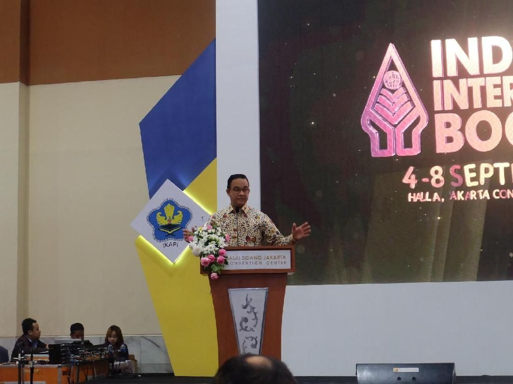 Anies Baswedan Buka Indonesia International Book Fair 2019