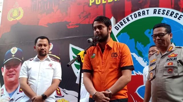 Kembali Terjerat Kasus Narkoba, Rio Reifan Ditangkap Polisi