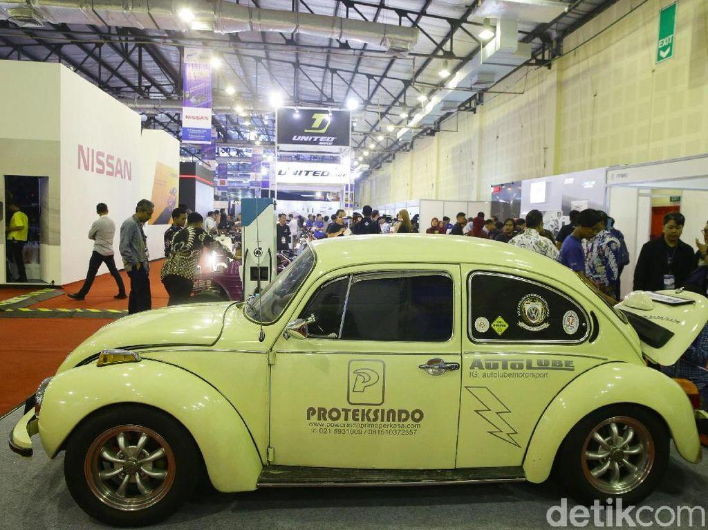 VW Kodok Diubah Jadi Mobil Listrik, Biayanya Rp 1 M!