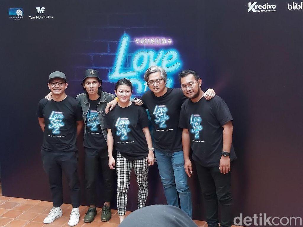 Gading Marten Tak Berperan di Love for Sale 2
