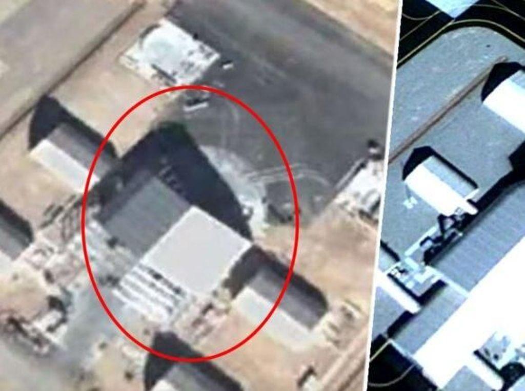 Pakai Google Earth, Apa Iya Ada Penampakan UFO di Area 51?