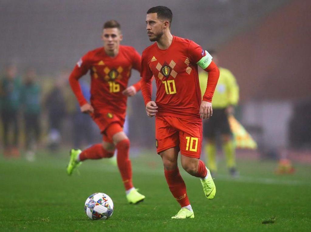 Hazard Bersaudara Absen di Kualifikasi Piala Eropa 2020