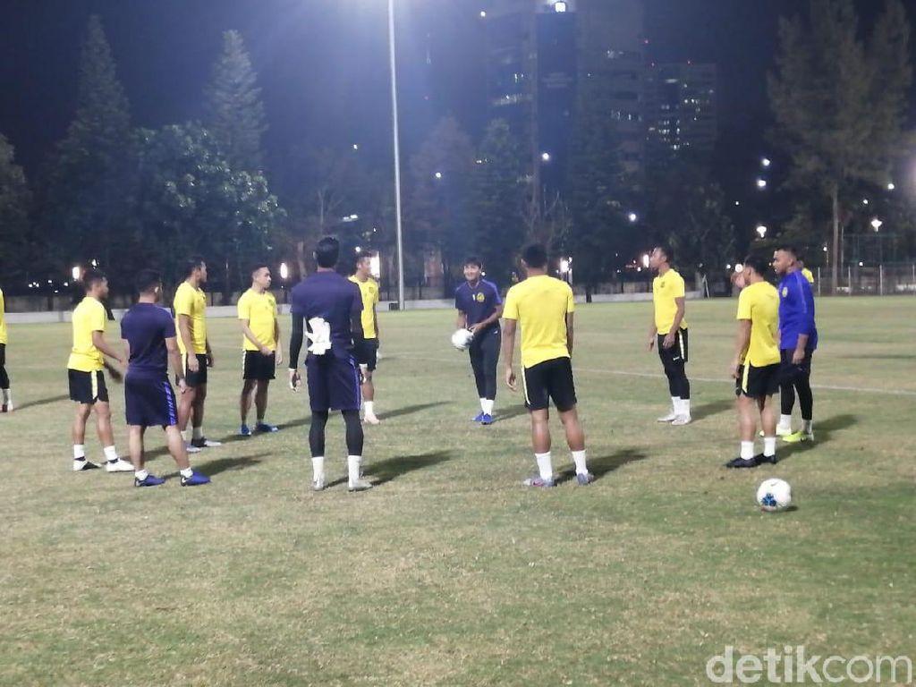 Jelang Lawan Indonesia, Malaysia Gelar Latihan Tertutup
