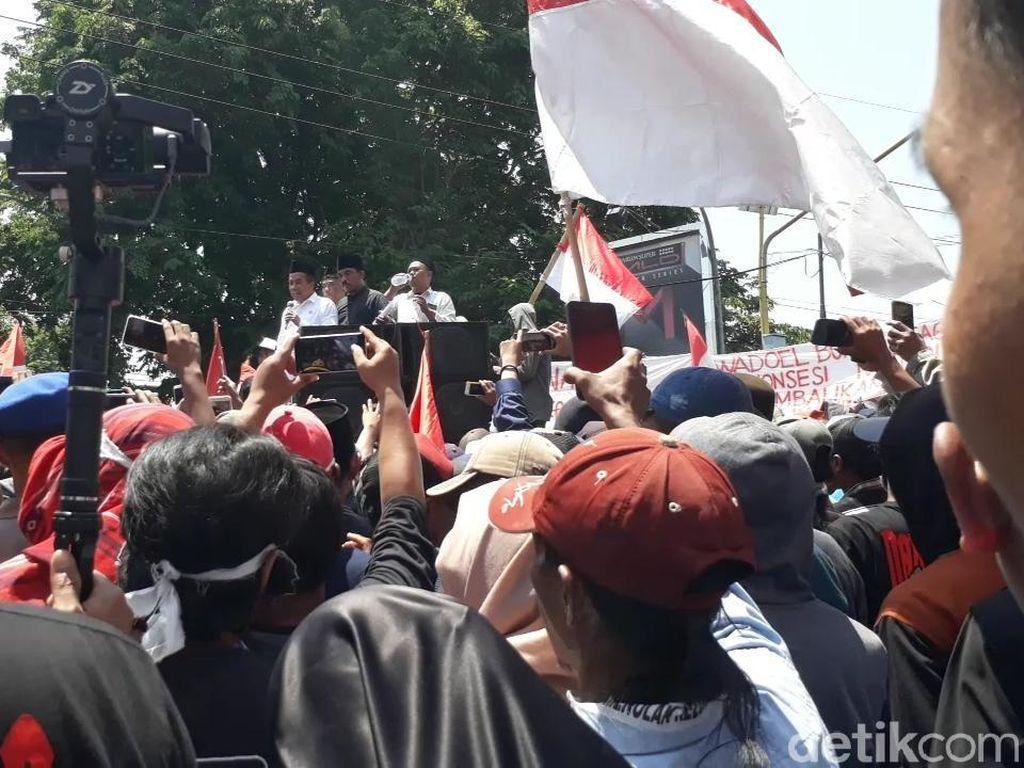 Usai Ditemui Wabup Pasuruan, Ribuan Warga yang Tolak Relokasi TNI AL Bubar