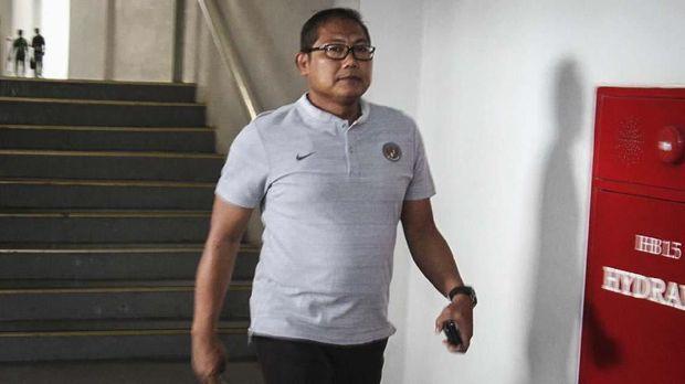 Manajer Timnas Indonesia, AKBP Sumardji menyebut kehadiran suporter bakal menjadi penambah nyawa dan semangat bagi Skuat Garuda saat melawan Malaysia. (Dok: Ary Kristianto)