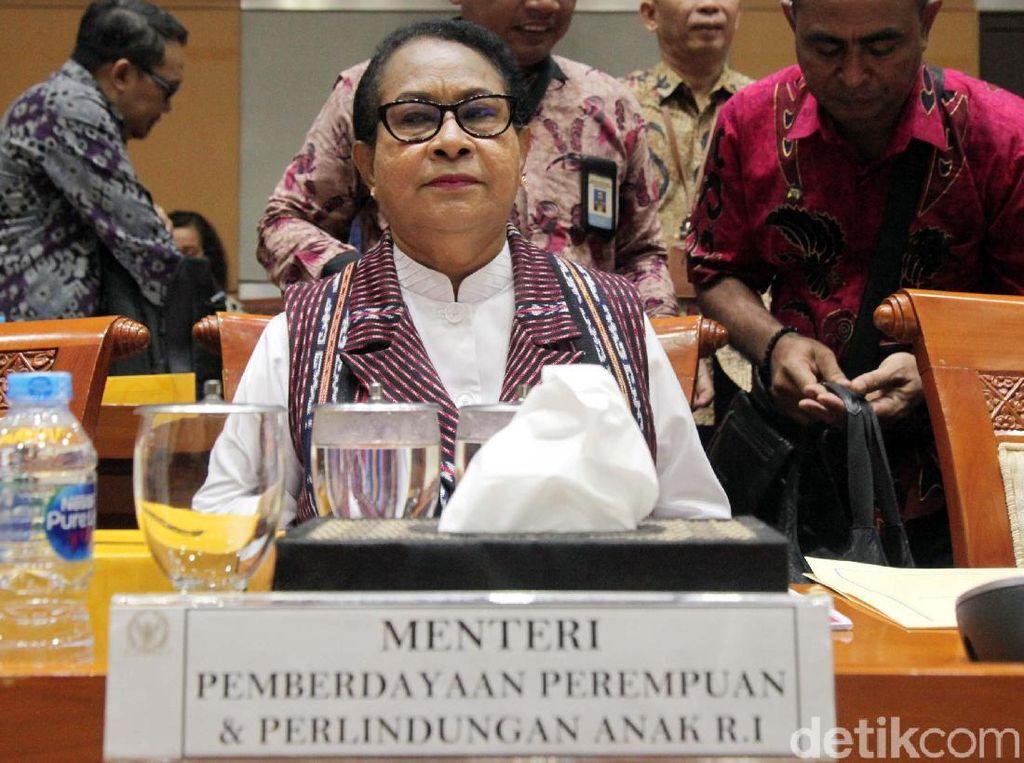 Menteri PPPA Bahas Pagu Anggaran dengan Komisi Komisi VIII DPR