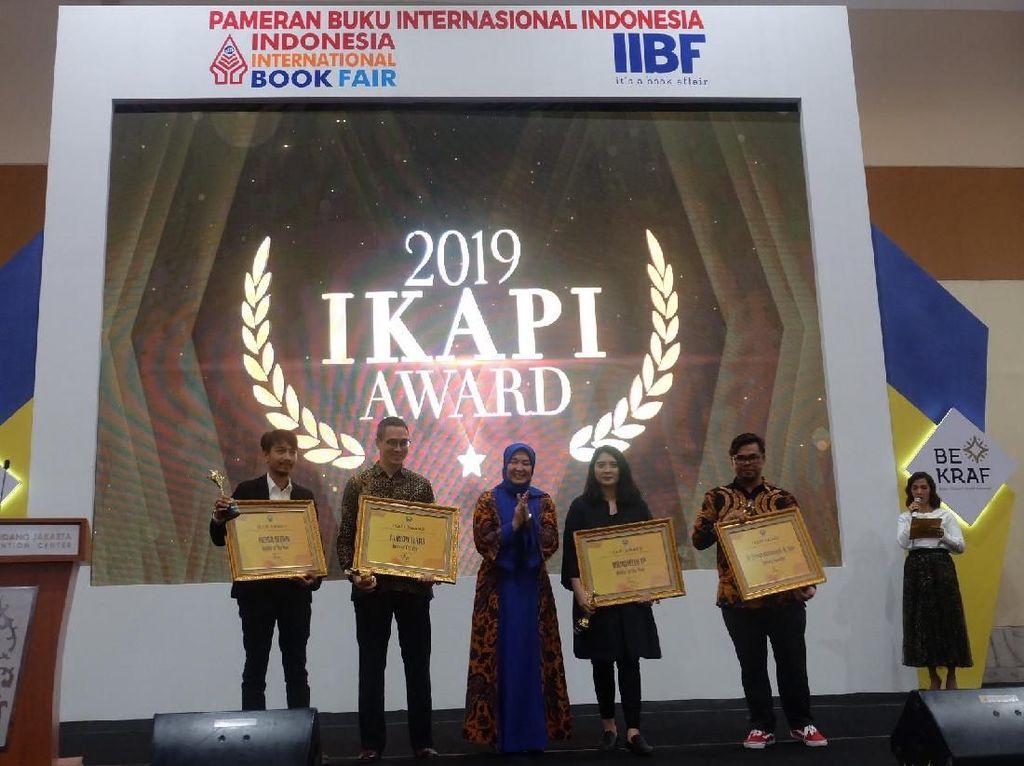 Marchella FP hingga Fiersa Besari Raih Penghargaan IKAPI di IIBF 2019
