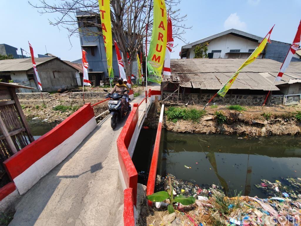 Begini Kondisi Kali Bahagia Bekasi Usai Sebulan Pembersihan Sampah