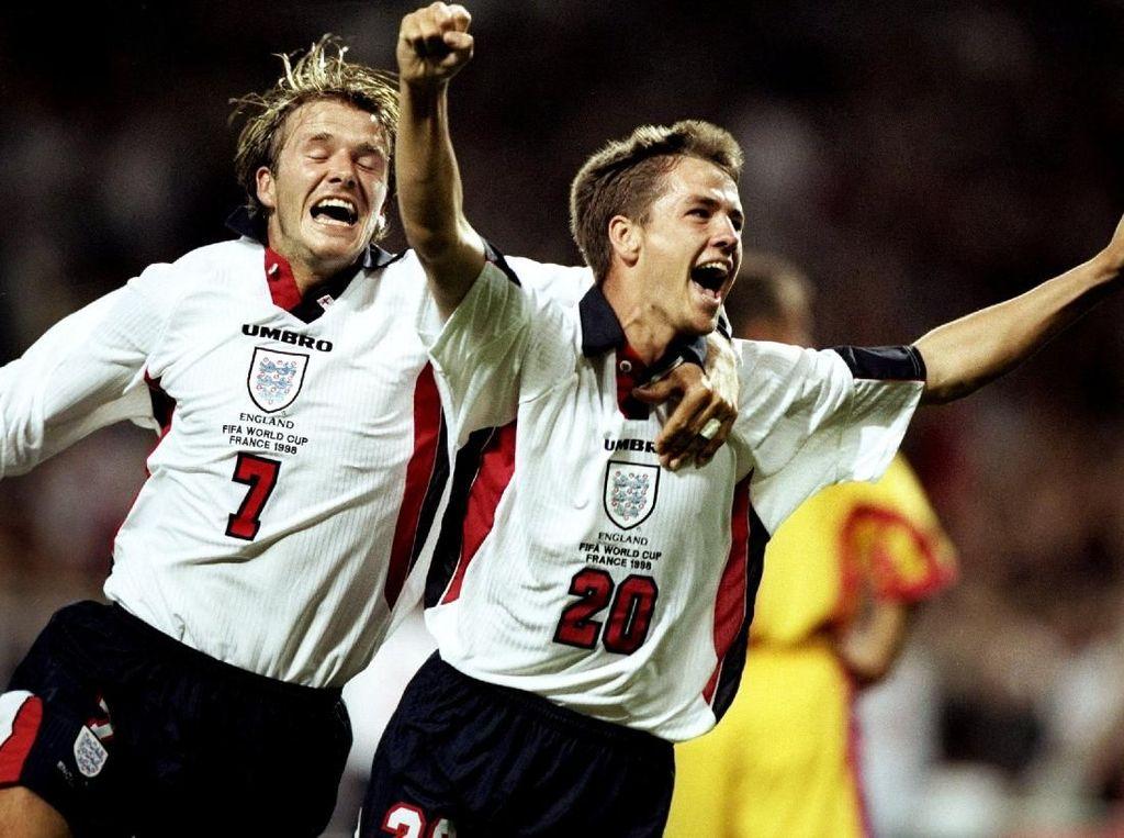 21 Tahun Berlalu, Owen Masih Kesal pada Beckham Akibat Kartu Merah PD 1998