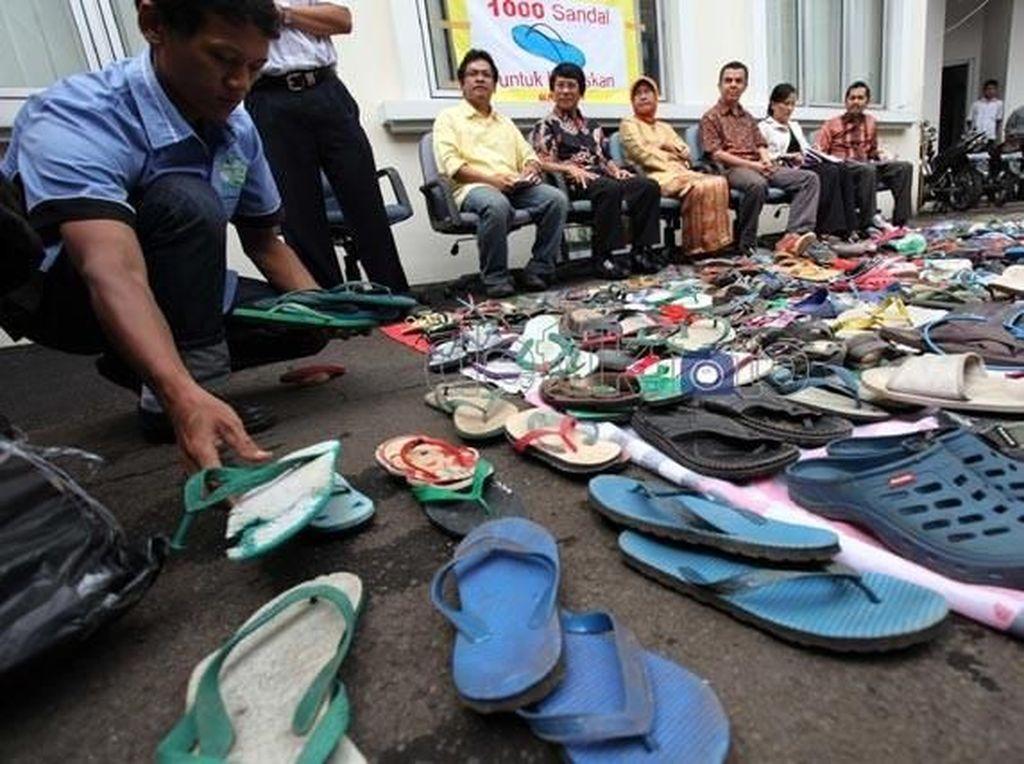 KUHP dan Kisah Pencuri Sandal Jepit Rp 30 Ribu Terancam 5 Tahun Bui