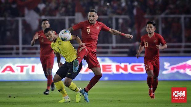 Beto Goncalves sempat dua kali membawa Indonesia unggul atas Malaysia.