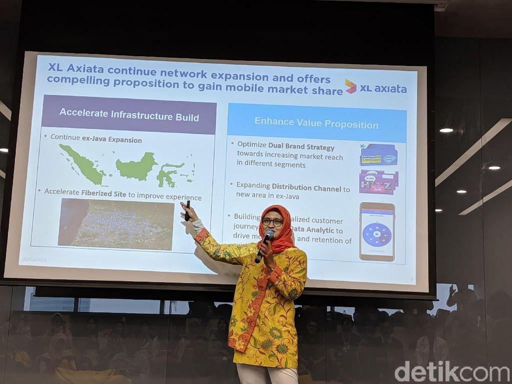 XL Tancap Gas Bangun Jaringan Internet di Luar Jawa