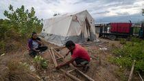 Jeritan Hati Korban Gempa Palu di Tenda Darurat, Waswas Dihantui Corona
