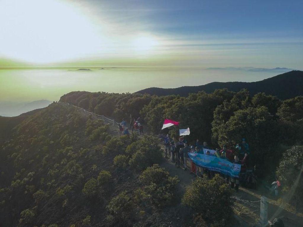 Pendakian Gunung Gede Dibuka 4 Hari, Traveler yang Batuk dan Flu Dilarang