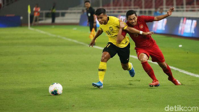 Timnas Indonesia vs Malaysia di Kualifikasi Piala Dunia 2022. (Foto: Agung Pambudhy/detikSport)