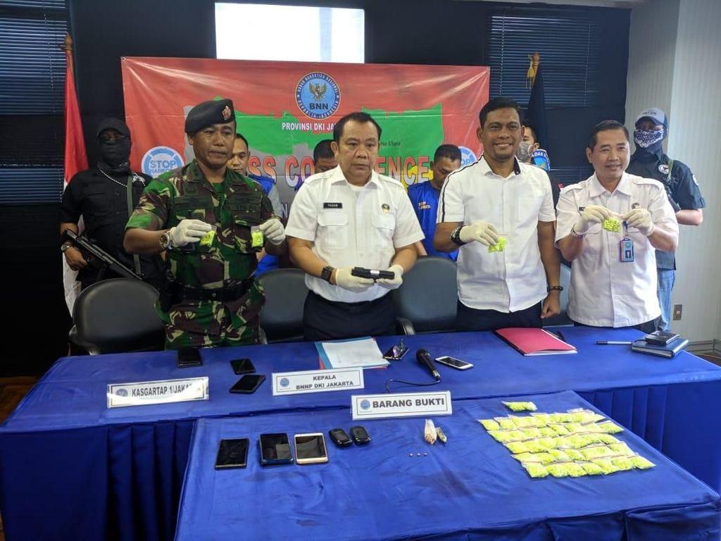 Terlibat Peredaran 3 Ribu Butir Ekstasi di Hotel Jakbar, 4 Oknum TNI Ditangkap