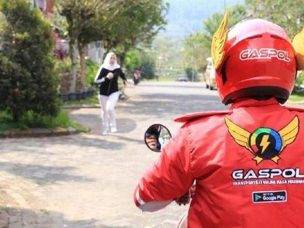 Kenalin Gaspol, Penantang Gojek dan Grab dengan Helm Gundala