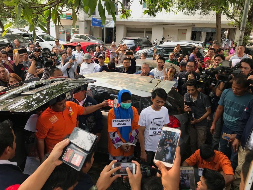Aulia Kesuma dan Kelvin Siapkan Miras-Jus Maut di Apartemen Kalibata City