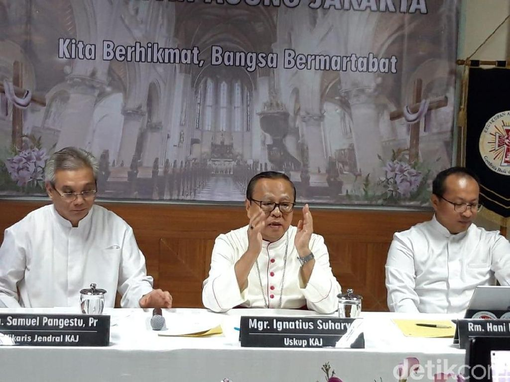 Uskup Agung Jakarta Ign Suharyo Ditunjuk Jadi Kardinal Vatikan