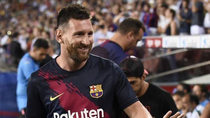 Lionel Messi kabarnya boleh meninggalkan Barcelona kapan saja (Josep Lago / AFP)